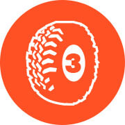 SnapSports Triple Traction Tread Icon