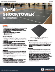 50-50 with ShockTower Specifications thumbnail