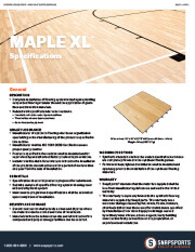 Classic XL with Maple Specifications thumbnail