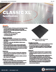 Classic XL Specifications thumbnail