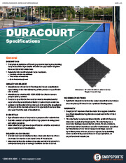 DuraCourt Flooring Specifications thumbnail