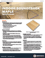 Indoor BounceBack with Maple Specifications thumbnail