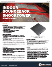 Indoor BounceBack with ShockTower Specifications thumbnail