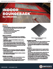 Indoor BounceBack Specifications thumbnail