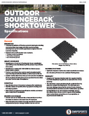 Outdoor BounceBack with ShockTower Specifications thumbnail