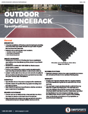 Outdoor BounceBack Specifications thumbnail