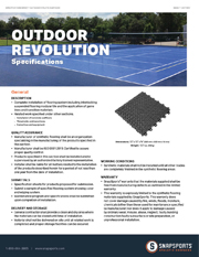 Outdoor Revolution Specifications thumbnail