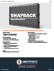 SnapBack Specifications thumbnail