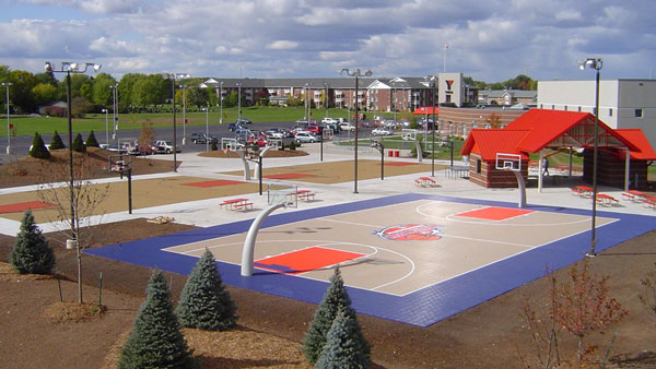 Customer Testimonials Made In The USA Outdoor Basketball - Cost of backyard basketball court